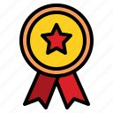 badge, good, quality, reward