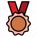 champion, competition, medal, reward icon