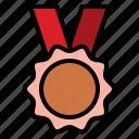 champion, competition, medal, reward