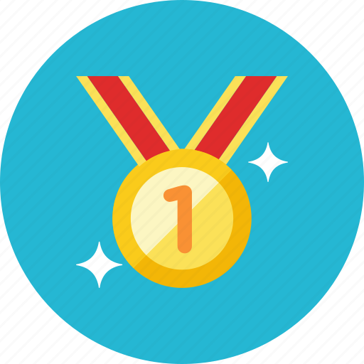 2, medal icon