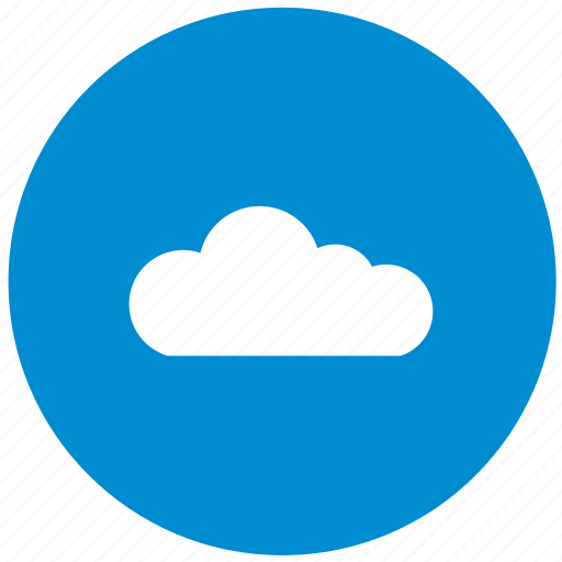 blue, cloud, data, server, storage, technology, transfer icon