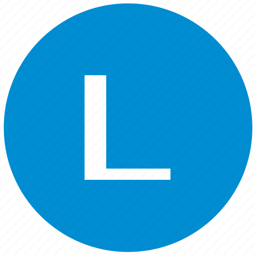 key, l, latin, letter icon