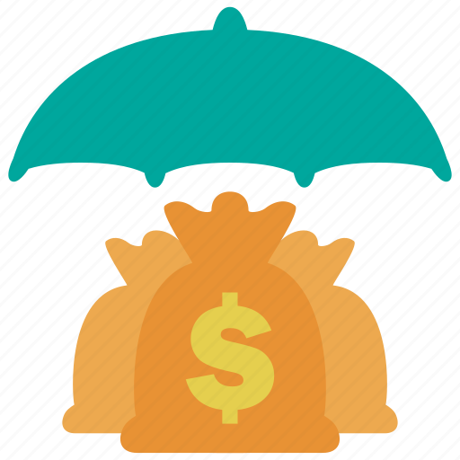business, cash, insurance, investment, money, profit, protection icon
