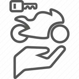 bike, biker, care, key, motorcycle, owner, protection icon