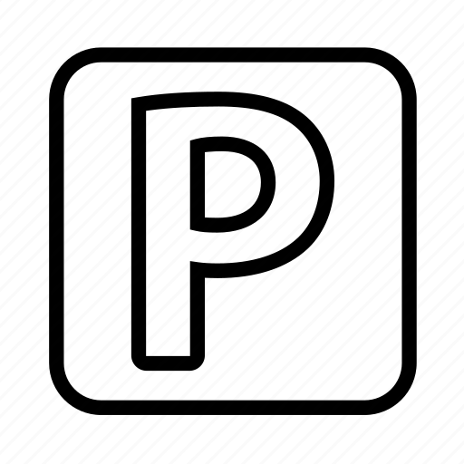 park, parking, road sign, sign icon