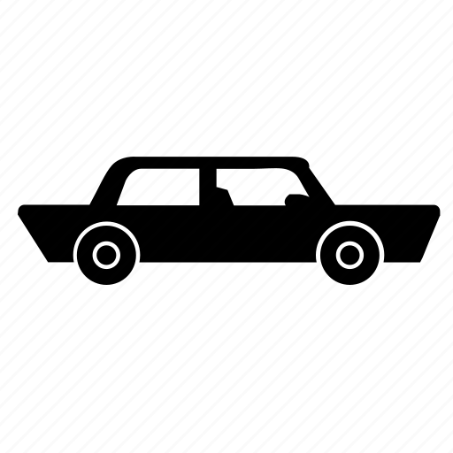 auto, automobile, car, limo, limousine icon