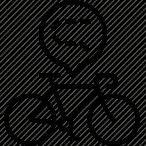 bicycle, chain, drive, life, part, road, yumminky icon