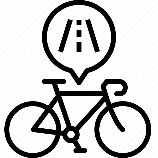bicycle, life, race, road, route, training, yumminky icon