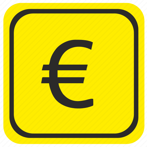 euro, exchange, money, poi, pointer, road, zone icon