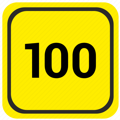hundred, limit, poi, pointer, road, spped icon
