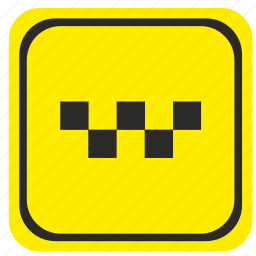 parking, poi, pointer, road, taxi icon