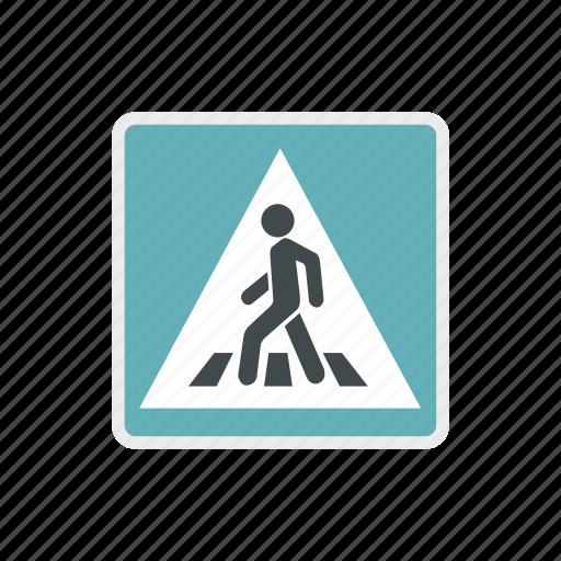 human, man, pedestrian, road, safety, traffic, walk icon