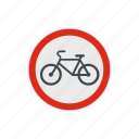 bicycle, bike, road, safety, traffic, transportation, warning icon