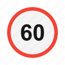 dashboard, limit, speed, speedometer icon