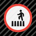 crossing, road, transport, transportation icon