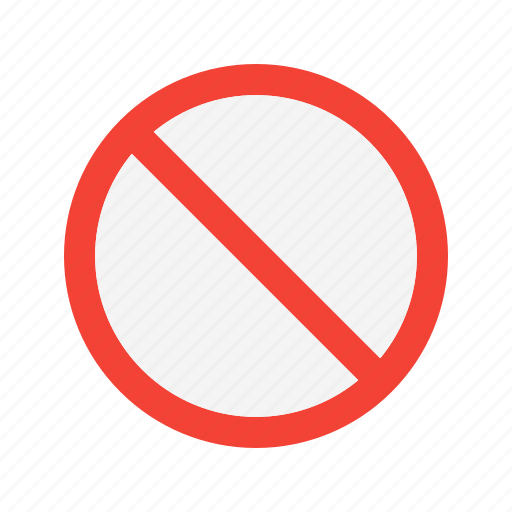 Ban, cancel, no icon - Download on Iconfinder on Iconfinder
