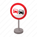 ban, caution, highway, road, sign, street, traffic icon