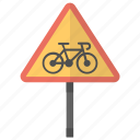 no cycles, road instructions, road safety, road sign, traffic sign