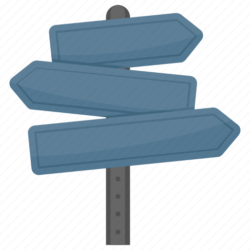 Fingerpost, guidepost, signboard, signpost, street sign icon - Download on Iconfinder
