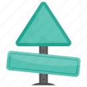 road information, road sign, empty signage, traffic sign, display information icon
