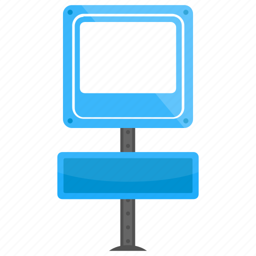 display information, empty signboard, information sign, sign board, signage icon