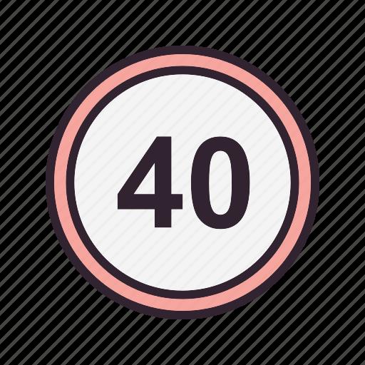 limit, speed, speed limit, speedometer icon