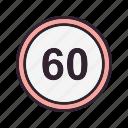 limit, duage, speed limit, speedometer