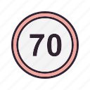 guage, limit, speed, speedometer icon