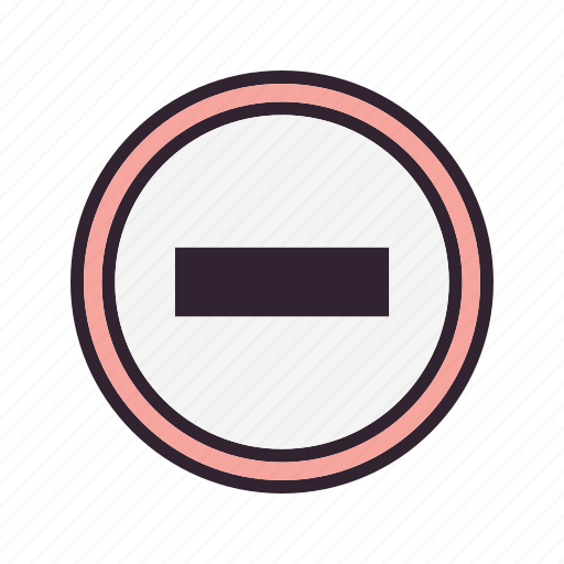 entry, forbidden, no, stop icon