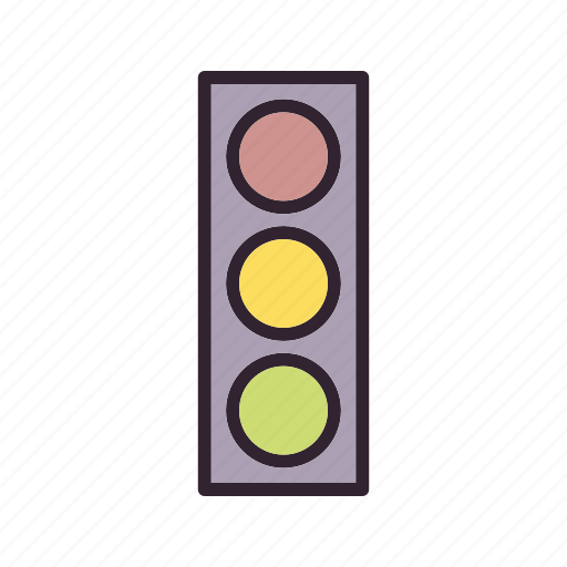 sign, stop, traffic, traffic light icon