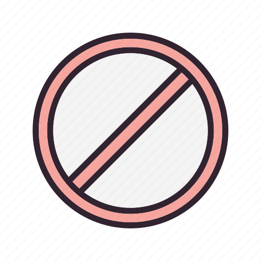 ban, block, forbidden, prohibited icon