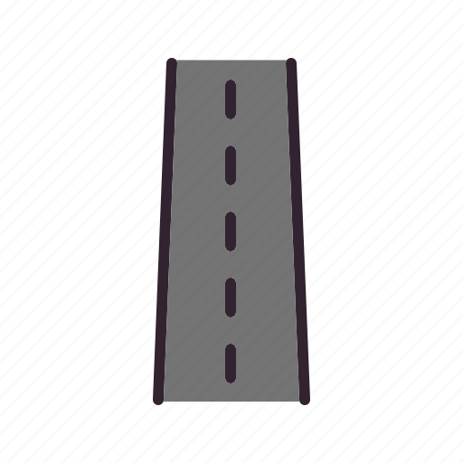 highway, road, transport, travel icon