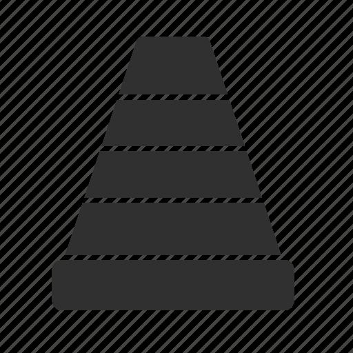 cone, sign, traffic, traffic cone icon