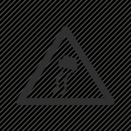 road, slippery road sign, slippy, traffic icon