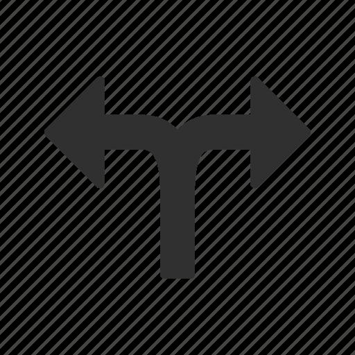 arrow, direction, double direction arrow, navigation icon
