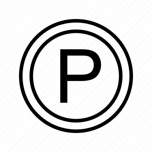 park, parking, vehicle icon