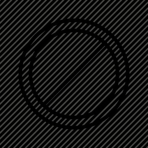 forbidden, no entry, stop icon