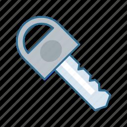 car, key, lock, roadtrip, secure, security icon