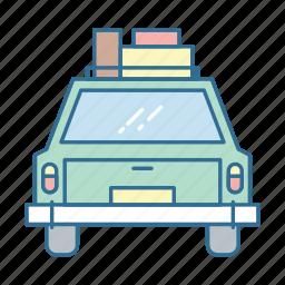 baggage, car, luggage, roadtrip, transport, travel, trip icon
