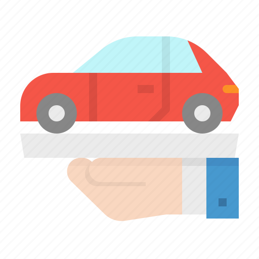 buy, car, hands, rent, transport icon