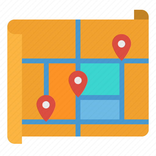 gps, location, map, maps, pin icon