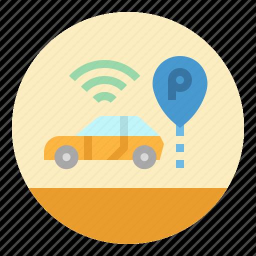 Car, park, parking, sign, transportation icon - Download on Iconfinder