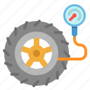 garage, tire, transportation, tyre, wheel icon