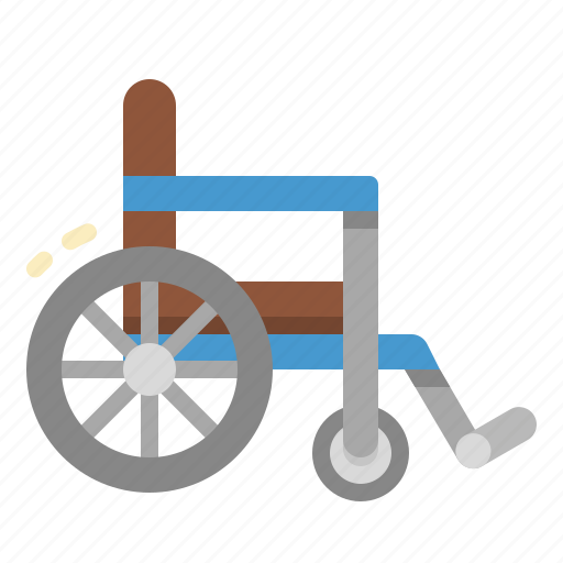 disability, disabled, handicap, signaling, wheelchair icon