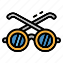 eyeglasses, fashion, glasses, summertime, sunglasses icon