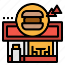 bar, burger, fastfood, restaurant, shop icon
