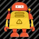 cartoon, cyborg, robot, toy