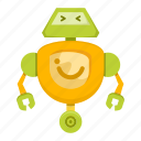 cartoon, machine, robot, toy icon