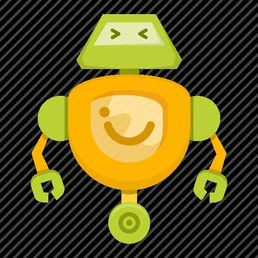 Cartoon, machine, robot, toy icon - Download on Iconfinder