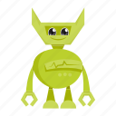 android, cartoon, robot icon